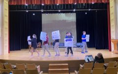 Rehearsal for the play