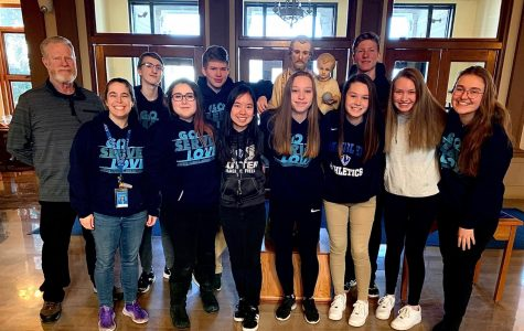Cotter students who participated in the most recent Urban Plunge.