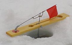 Beaver Dam ice fishing tip ups still the best