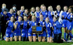 Girls Soccer perseveres to win first section championship