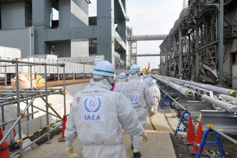 Present-day Fukushima Daiichi Nuclear Power Station