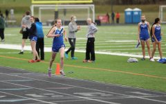 Sonja Semling competes in the 1600 meter race at Dover-Eyota High School on April 23.
