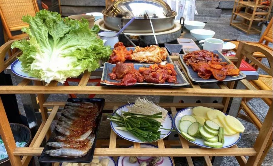 """A Review of """"Old Yard Barbeque""""---Stone Barbeque"""