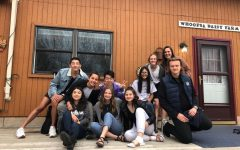Cotter dorm students pose for a photo on a a trip to Duluth.