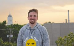 Mac Whaley enjoying the sunset in Columbia, Missouri, where he attended college at the University of Missouri