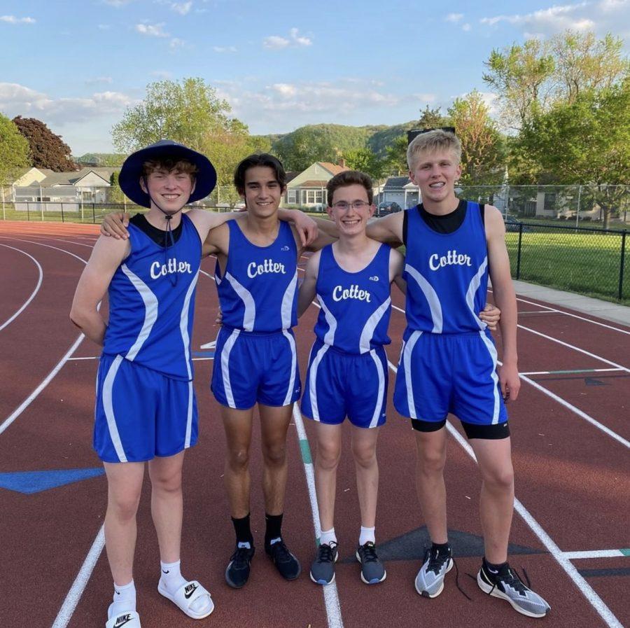 Junior High track has record breaking season