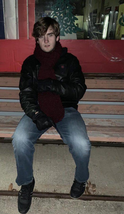 John Littrell in his junior year.