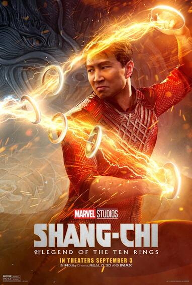 One of the posters for Shang-Chi and the Legend of the Ten Rings. From marvel.com.