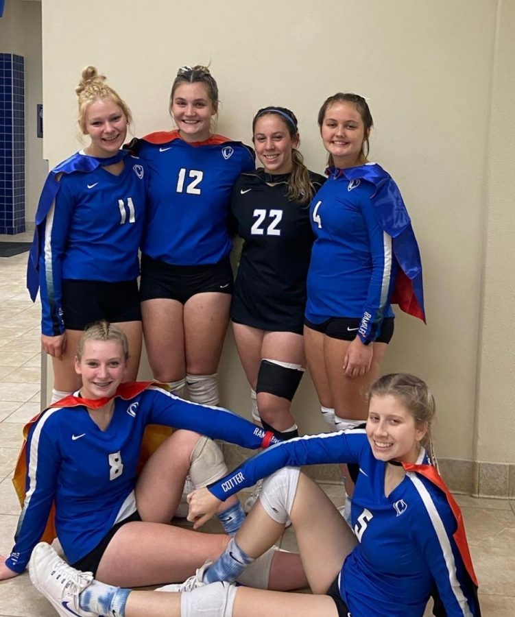 Caped crusaders come through on senior night