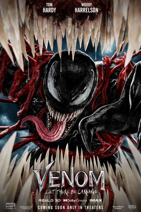 A promotional image from Venom: Let There Be Carnage, agreat bad movie,  From Sonys official website.